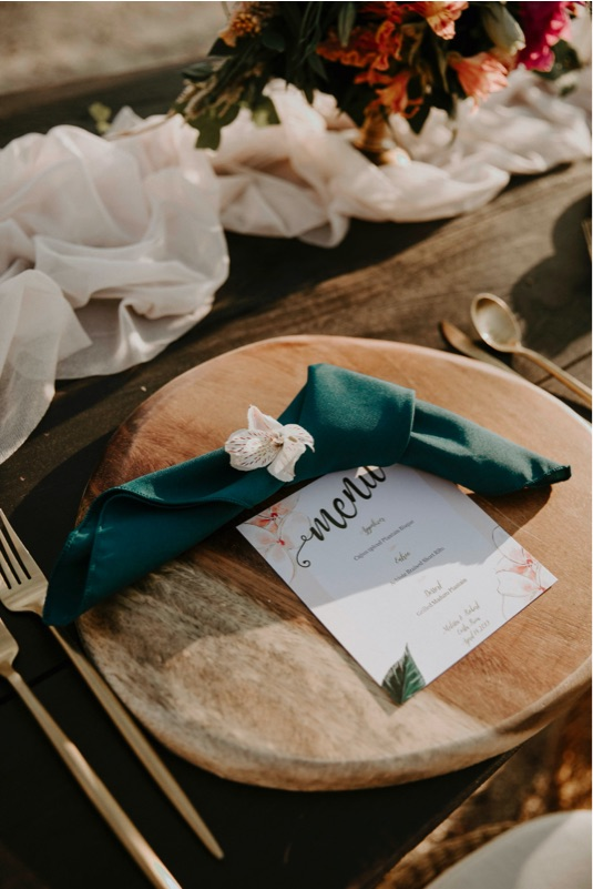Costa Rica Wedding Reception