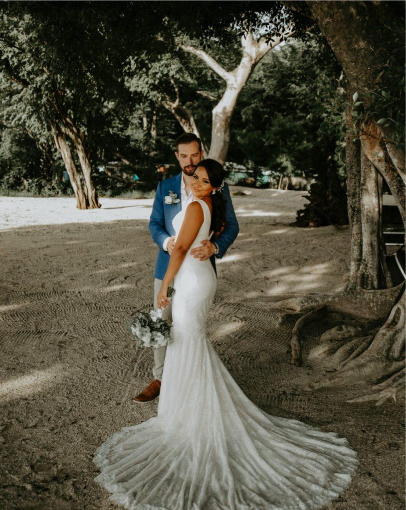 Wedding in Pangas, Costa Rica