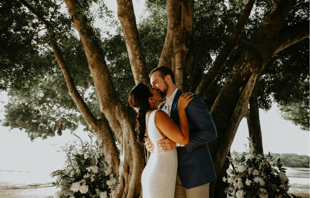 Wedding celebration in Costa Rica
