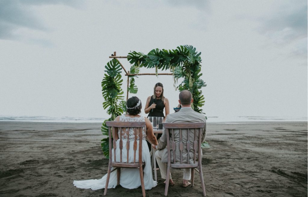 Jungle Beach Wedding