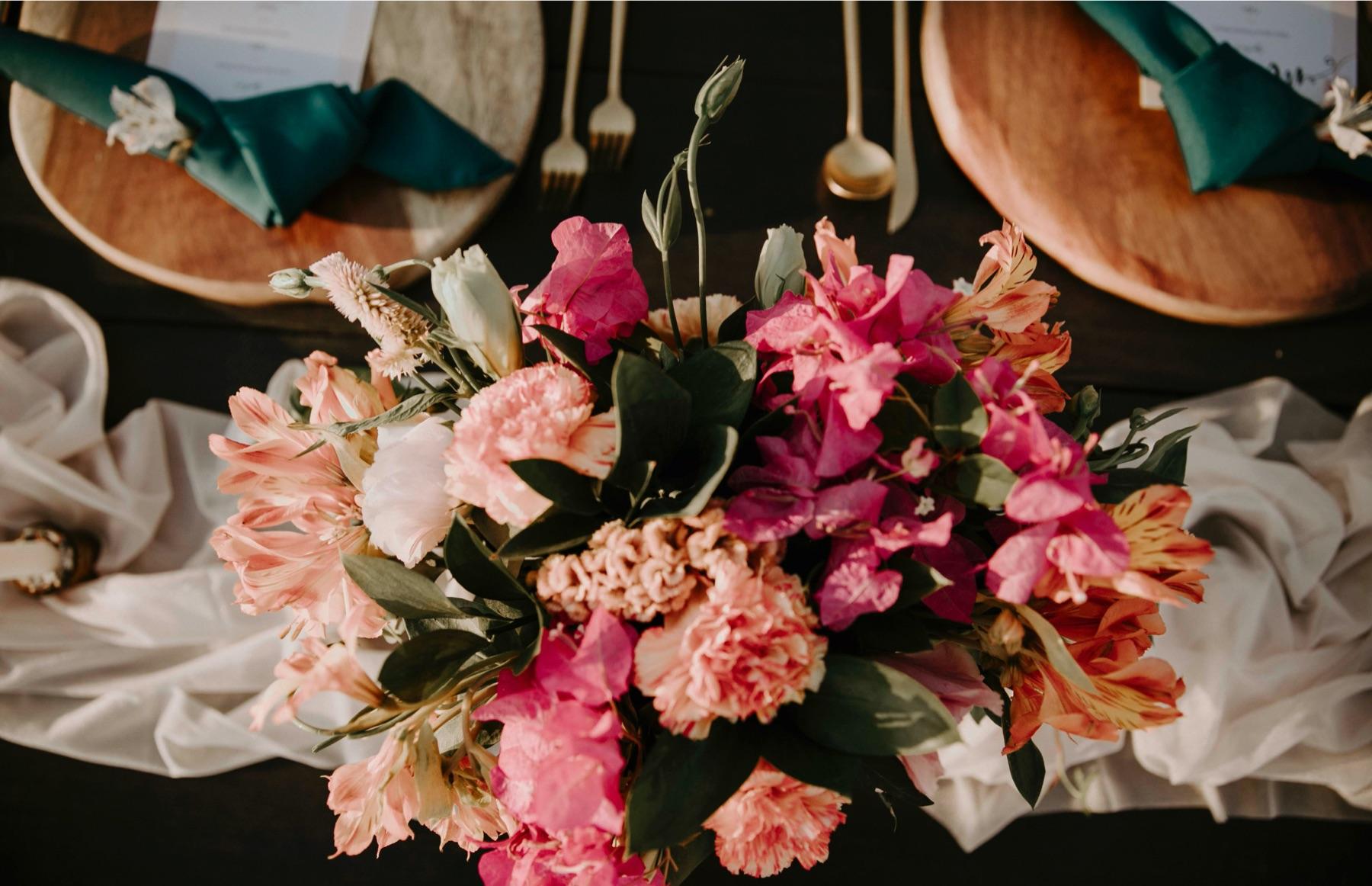 Romantic Flowers in Costa Rica