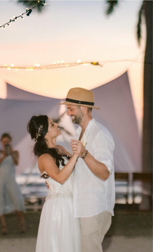 Sunset Tamarindo wedding